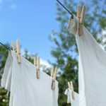 洗濯マグちゃんの1年後。アルカリイオン水のスプレーとして生まれ変わる。